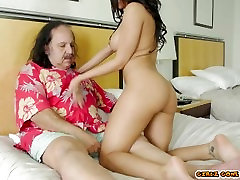 Luna Star Teases Ron Jermy And Cums Hard