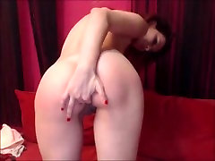 Kinky Teen Gets Spanked, uses Nipple Clamps. Fingers Pussy and Fucks Ass.