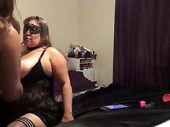 BBW BBM molly rollinng Couple morning sex spanking flogging but plug feet tickled