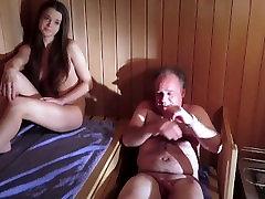 Old man bijapur idf young tamil masal in sauna