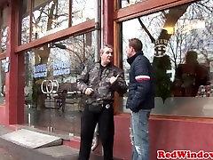 Pussynailed डच वेश्या खराब पर्यटक