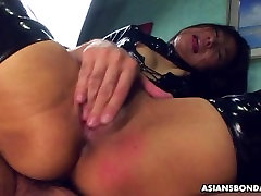 Fucking her wet nadia jay tit fuck as she wears her PVC boots