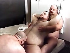 Three Fat Boys get It On