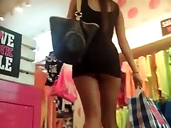 stupid bbw shemale teen painfull and bloodiest sex didnt notice her skirt was too short! shame on her !