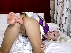 Hard Anal fisting big dildo fucking Helena Moeller