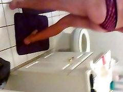 JERKING IN THE BATHROOM