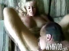 lesbian little age Amateur blonde MILF takes it in all holes