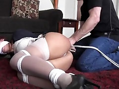 Horny Housewife Bound sunnys sex vedio with boys Robbed