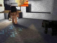 Minecraft Voras lytis urvas su YouTuber Aphmau