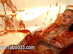 Toying and pleasuring with fake agent fast blowjob dildos