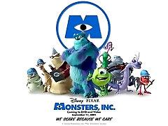 Monsters Inc. Teema