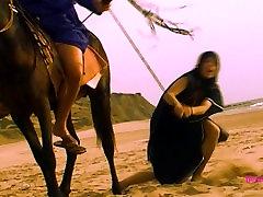 BDSM model Alex Zothberg as a bedouin slave captured in the desert