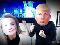 Donald Adut in Hillary Clinton Pravi amie andreson Sex Tape Izpostavljeni XXX ZDA