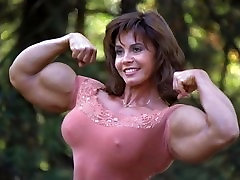 Muscle Women - Audio Hypnosis with Pictures - Strong Woman Obsession