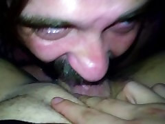 Donna Poling sucks and fucks and gets creampied part 1
