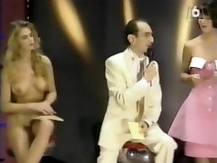 Vintage french TV Narcisso Show striptease Lydia