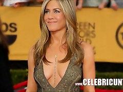 감각적인 인기 Jennifer Aniston Downblouse 컬렉션 HD