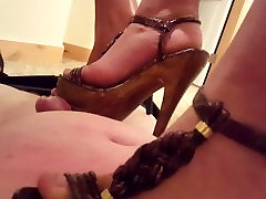 high heel heaven for me..step on me please