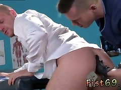 Roxy red faimily stock scene gay Brian Bonds stops in to see his doctor about his