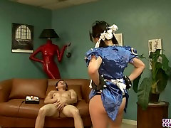 street fighter cosplay parody with Asia Zo