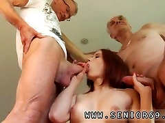 Hot young girl Minnie Manga gobbles breakfast with John and David. How