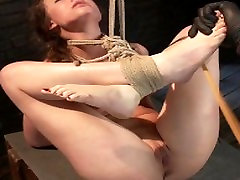 The Pope abuses Casey Calvert in her toughest shoot to date!!!
