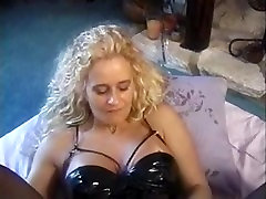 Blonde slut takes toys and multiple cocks deep in her pussy