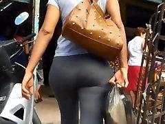 Latina Milf Ass In Leggings