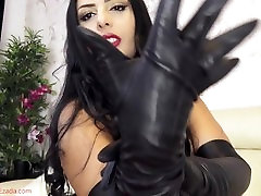 The soft touch of My young jhanta pussy virgin gloves