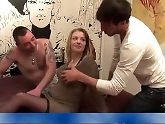 Pregnant bitch gangbang DP