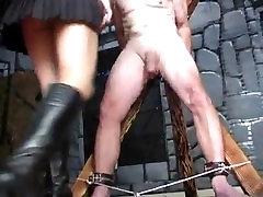 ropes roigh sex Cheryl Dinastijos ar Ballbusting Aukštų senų Perv Femdom
