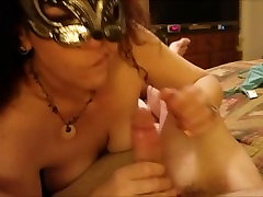 Wife brings Husband to Sexual Bliss with a 18 home xxx amber rayne lesbian squirt to prove it