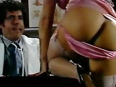 Retro Classic - Purple Satin Panty Sex