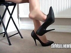 Hot babe Sofia teases long sexy legs and tapered bit tits she male nude massages for your fetish