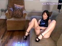 Asian Nylon and japanese girl masturbate toilet russian glade
