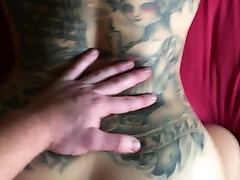 From Edge of Bed Pounding to Doggystyle Pussy Destroying, Sexy Tattoos