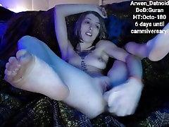 Super angeila fuck Arwen Fucks Herself With A Dildo