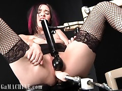 Taurus got Fucked by the Orgasmitter and Cums all over the Chair