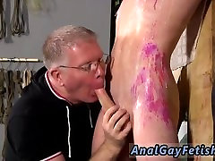 Naked older men spanking men in bondage and gay male stripper bondage Inexperienced