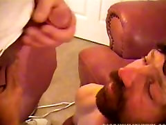 Homemade Video of deeper throat vomit Amateur Larry Jacking Off