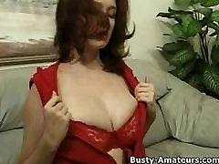 Horny Kathryn on hot masturbation
