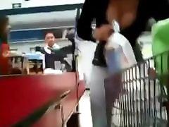 Camel toe in supermarket Super hot