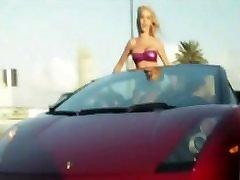 Alasti Tüdrukud Pidutsemine Luksus Autod!