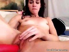 Petite free hot sweaty porn toys herself on webcam