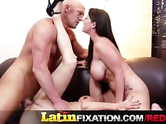 LatinFixation Hot Threesome with Sophie Dee