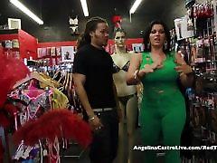 Busty Angelina Castro Spol Trgovina Vraga Tour!