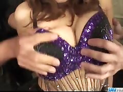 Ogromen Azijskih hardcore sex z Hikaru Wakab