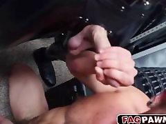 Sexy twink loves a cock in his tight ass
