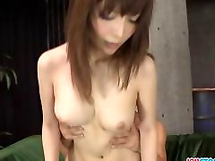 Riona Suzune hot milf gets a creamed pussy