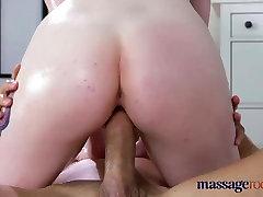 Masāžas Telpas Lielas krūtis zemeņu blondīne brauc liels tauku dick
